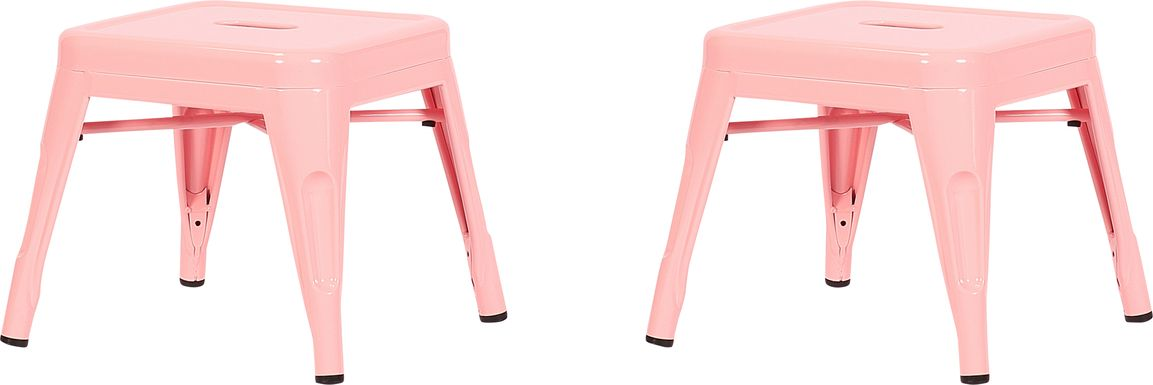 Kids Cleome Pink Chair, Set of 2