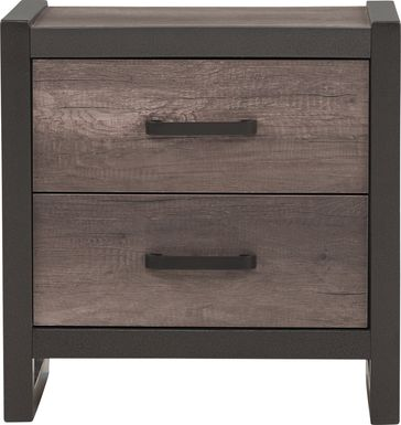 Kids Colefax Avenue Gray Nightstand