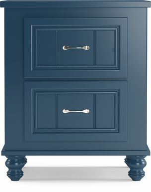 Kids Cottage Colors Blue Nightstand