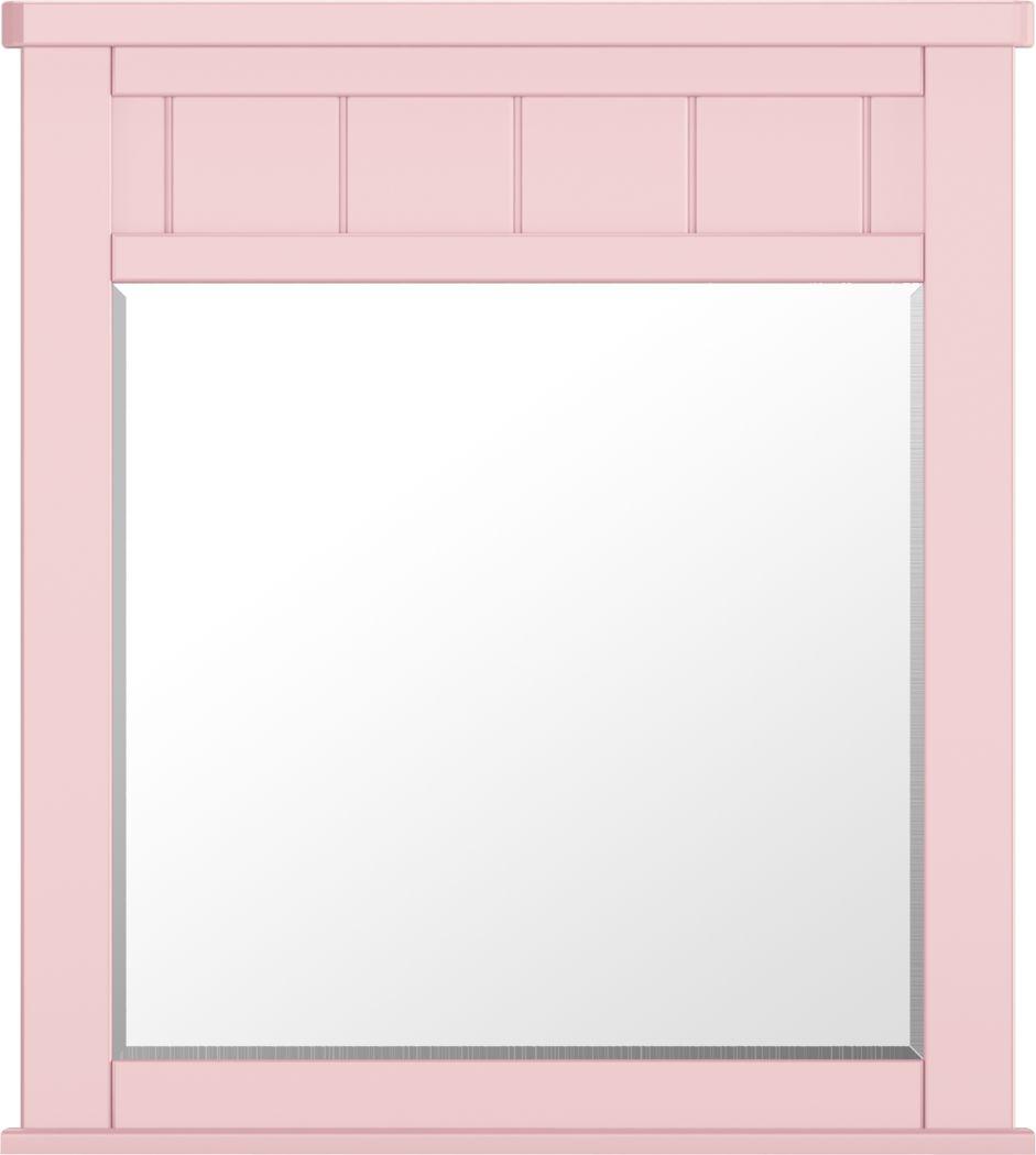 Kids Cottage Colors Pink Mirror