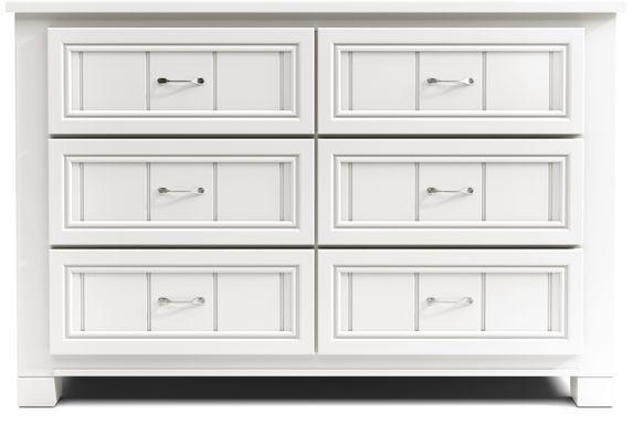 Kids Cottage Colors White Dresser