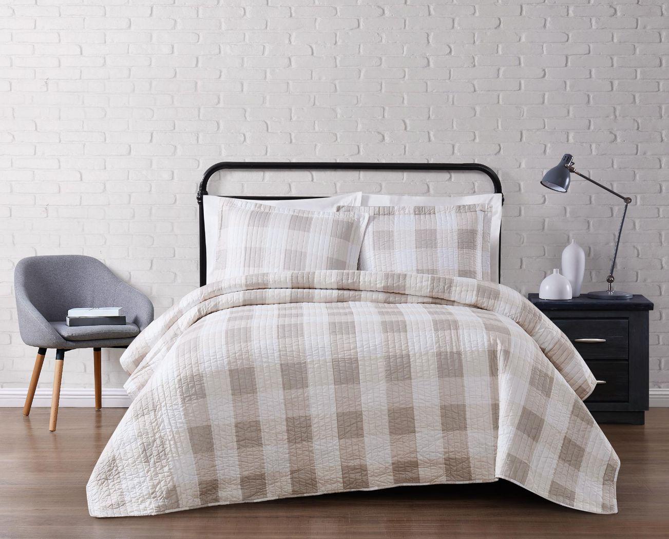 Kids Cottage Pearl Khaki 3 Pc Full/Queen Comforter Set