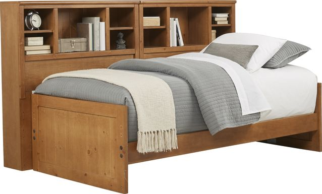 Kids Creekside Taffy 5 Pc Twin Bookcase Wall Bed