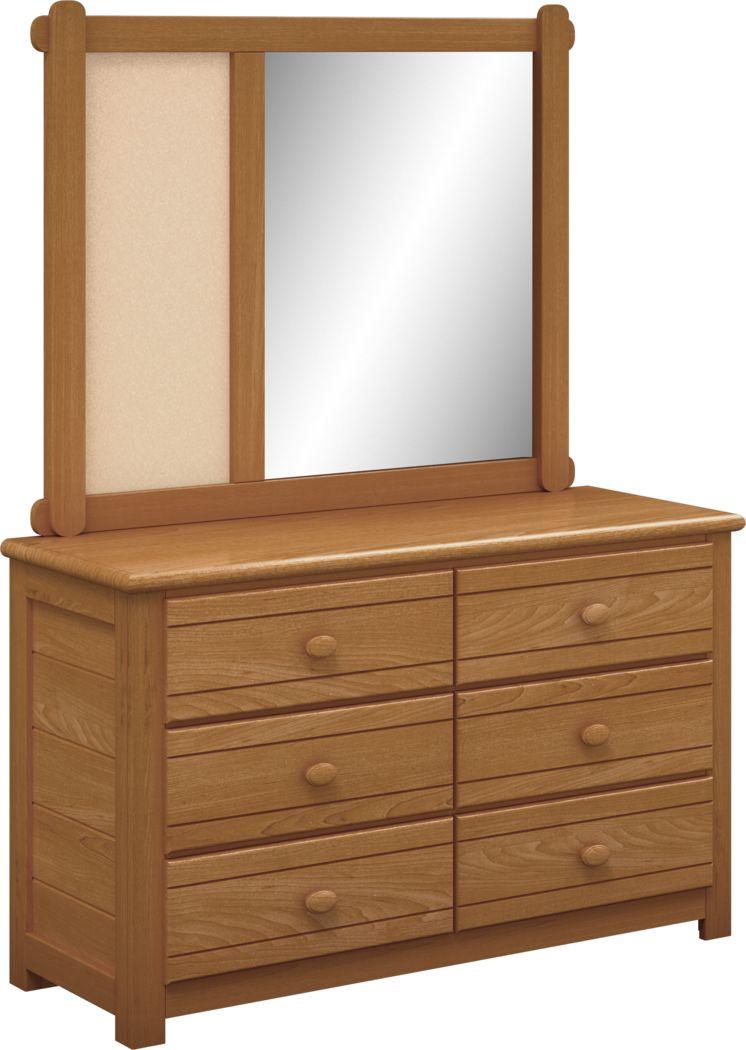 Kids Creekside Taffy Dresser & Mirror Set