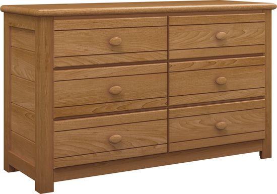 Kids Creekside Taffy Dresser