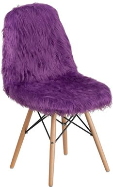 Kids Crestmount Purple Accent Chair