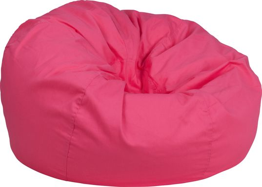 Kids Cucullu Pink Large Bean Bag Chair