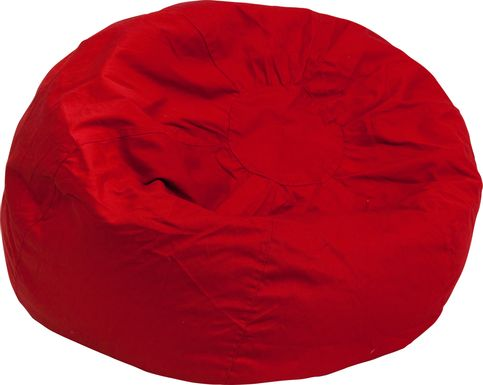 Kids Cucullu Red Large Bean Bag Chair
