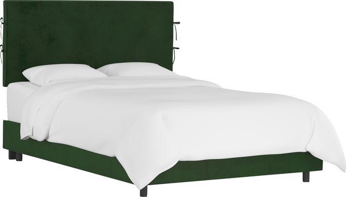 Kids Deep Forest Emerald Full Upholstered Bed