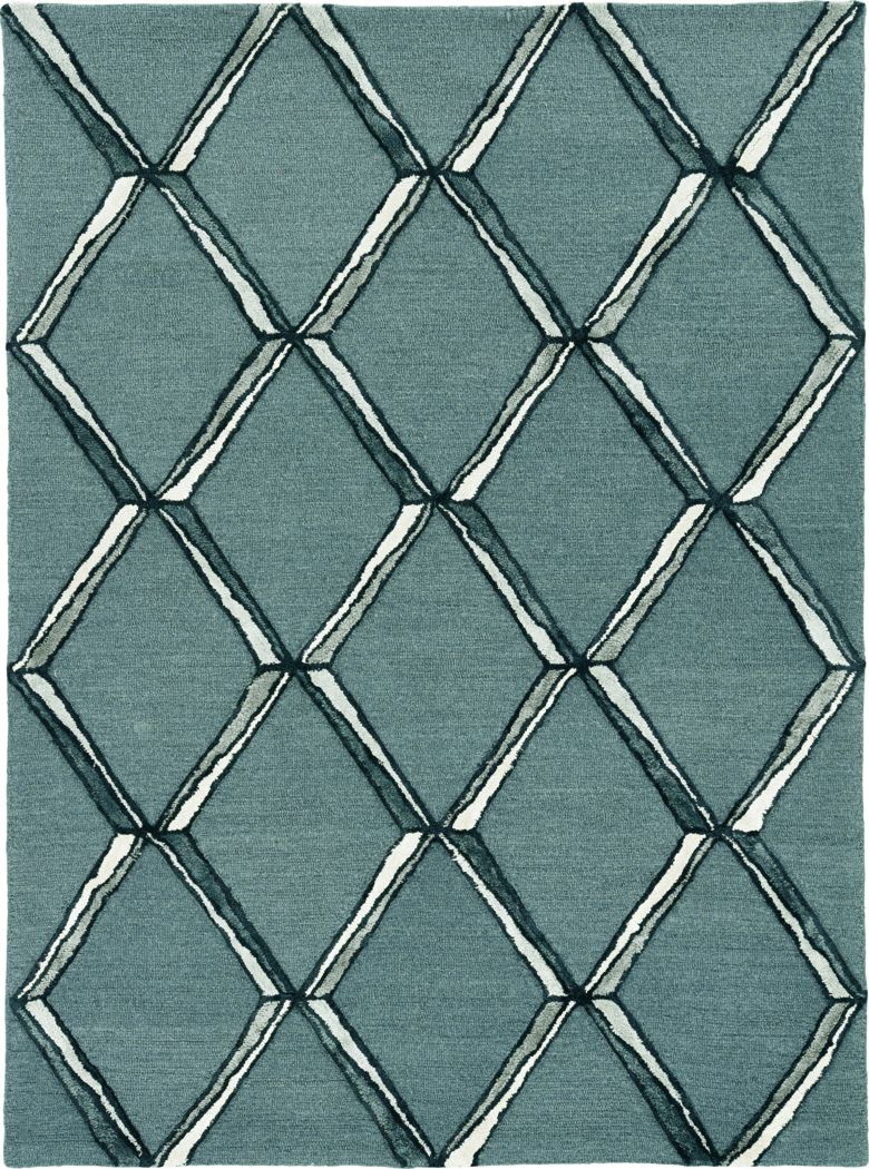 Kids Diamond Basic Gray 5' x 7' Rug