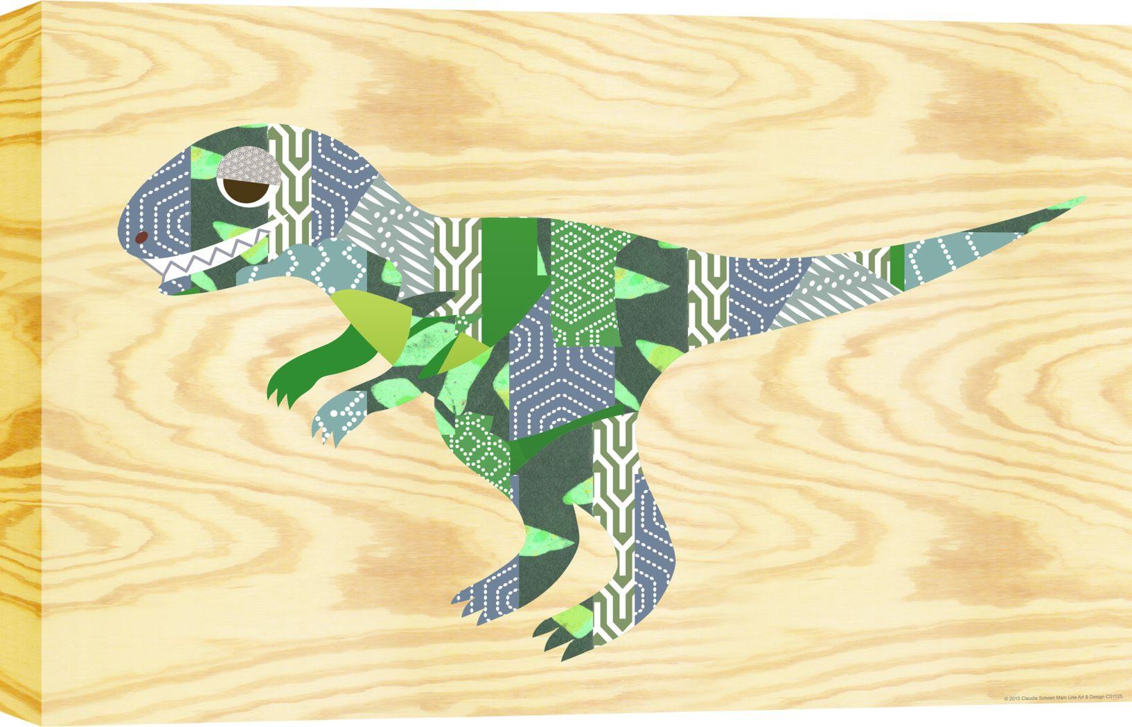 Kids Dinoroar Green Artwork