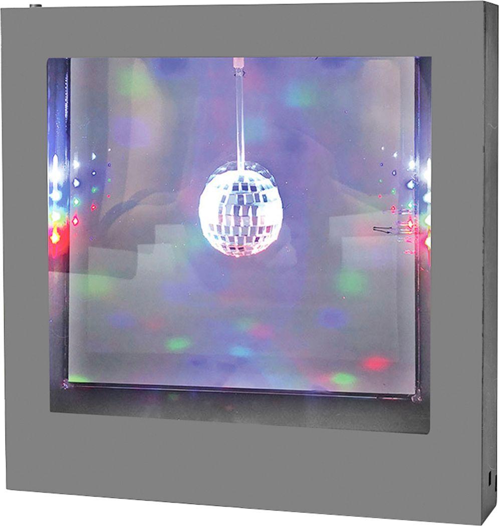 Kids Disco Lights Silver Light Box