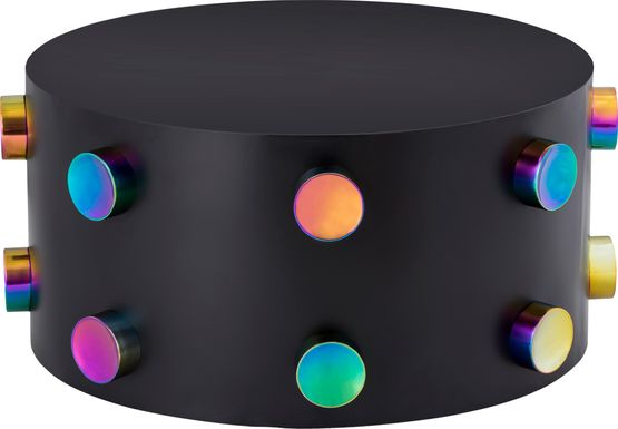 Discostar Black Cocktail Table
