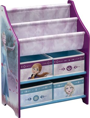 Kids Disney Frozen II Lilac Bookcase