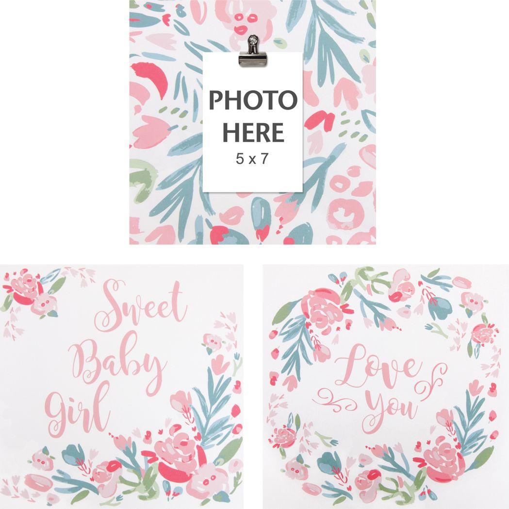 Kids Dream Blossom Pink 3 Pc Artwork