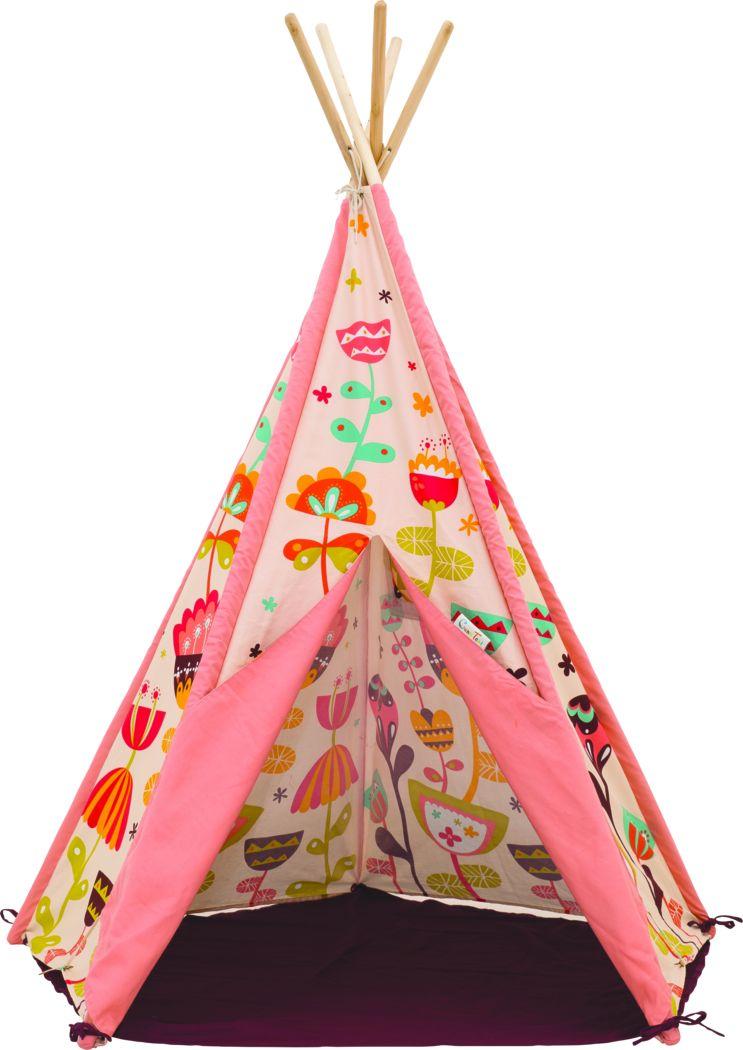 Kids Dream Gardens Pink Play Tent