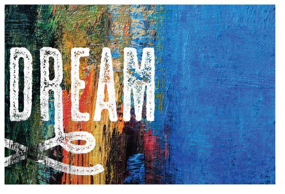 Kids Dreamy Horizon Blue Artwork
