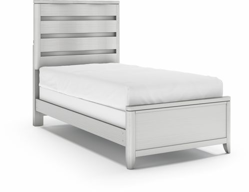 Kids Elliot Park Platinum 3 Pc Twin Panel Bed