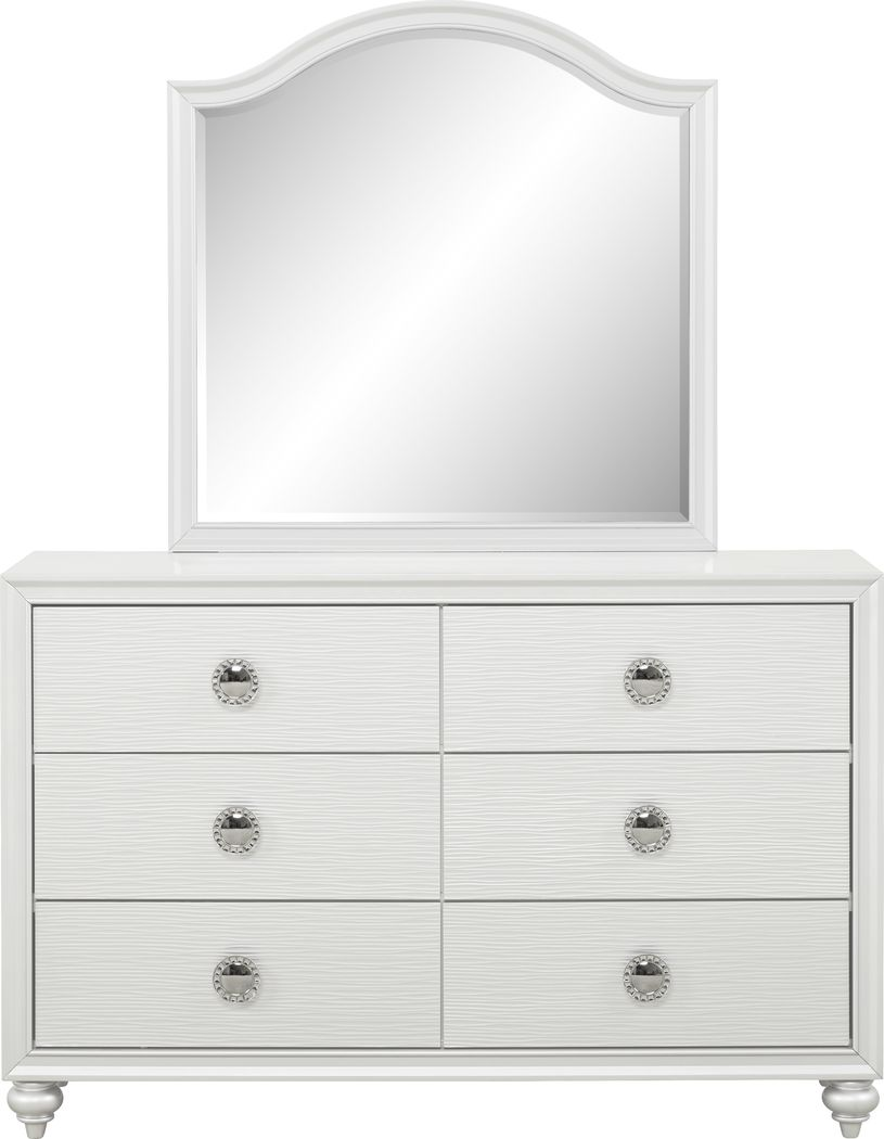 White Dresser Mirror Sets