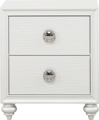 Kids Evangeline White Nightstand