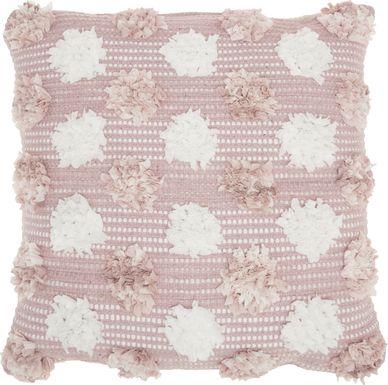 Kids Flowerful Blush Accent Pillow