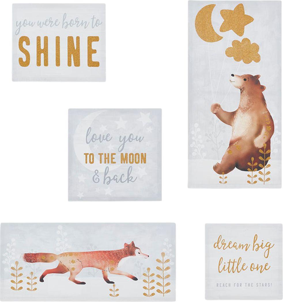 Kids Forest Shine White Artwork
