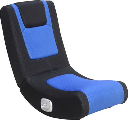 Kids Gabo Black/Blue Gaming Rocker
