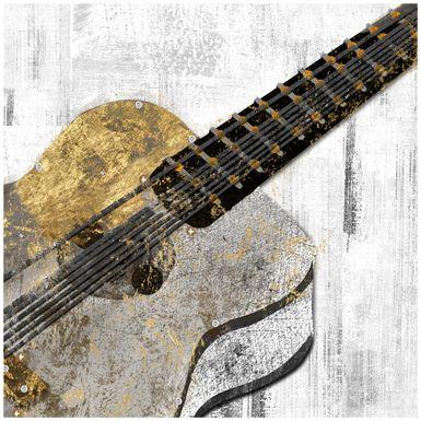 Kids Guitar Practice Brown Artwork