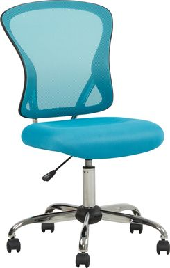 Kids Hayley Blue Desk Chair