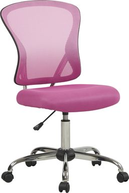 Kids Hayley Pink Desk Chair