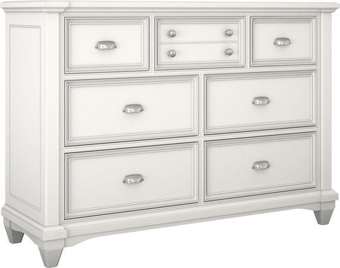 Kids Hilton Head White Dresser
