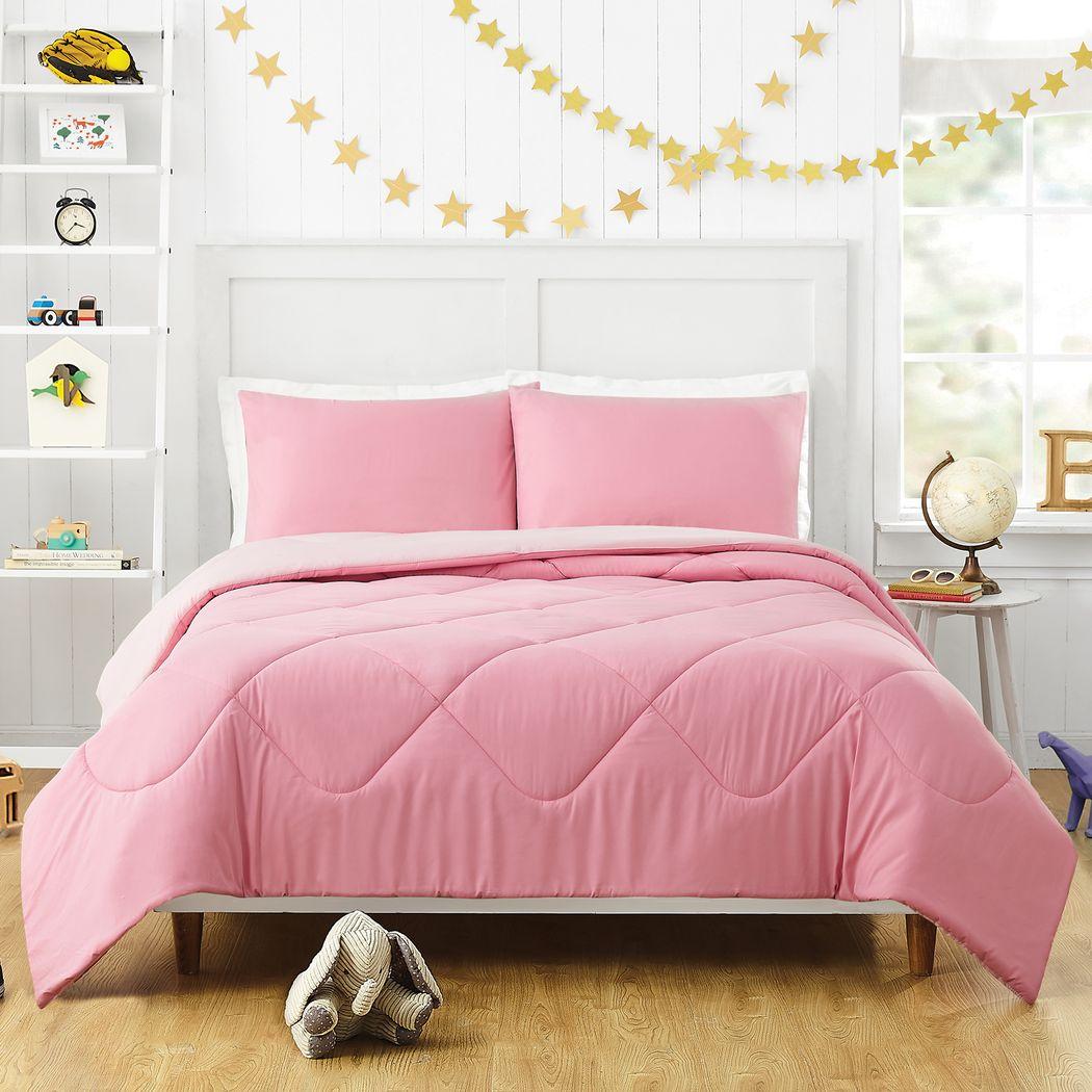 Kids Irys Pink 2 Pc Twin Comforter Set