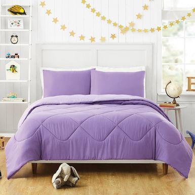 Kids Irys Purple 2 Pc Twin Comforter Set
