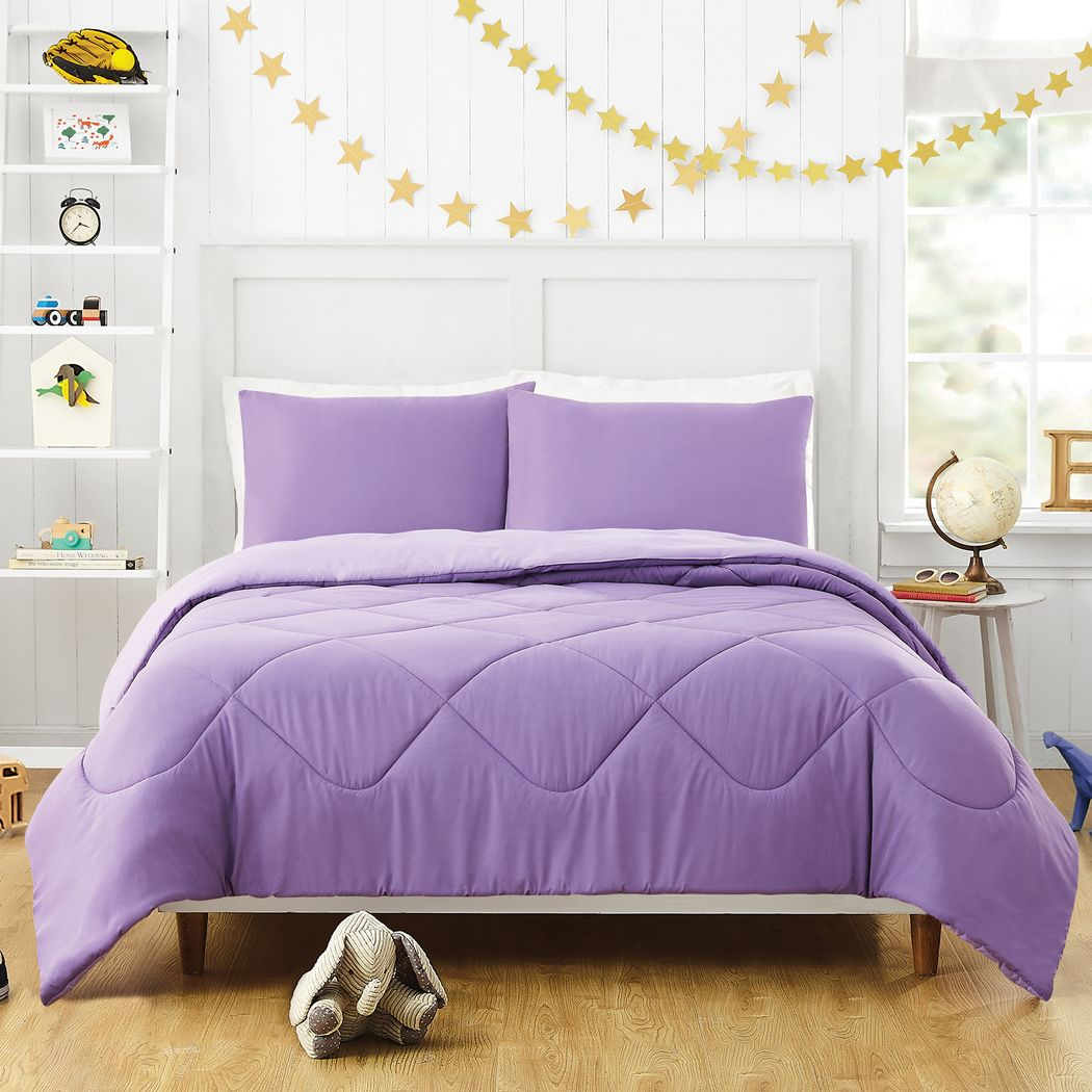 Purple Queen Sized Comforters Lavender Plum Lilac