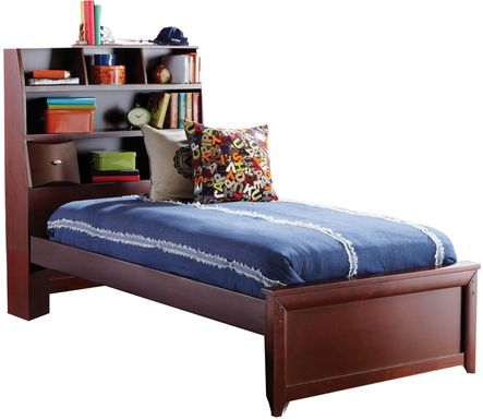 Kids Ivy League Cherry 3 Pc Twin Bookcase Bed