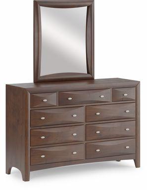 Kids Ivy League Cherry Dresser Mirror Set