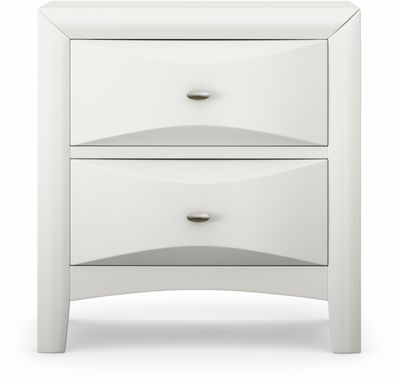 Kids Ivy League White Nightstand