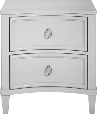 Kids Jaclyn Place Gray Nightstand