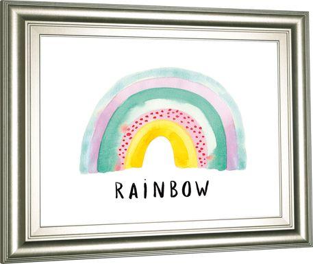 Kids Jolly Rainbow White Artwork