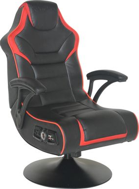 Kids Karou Black/Red Gaming Chair