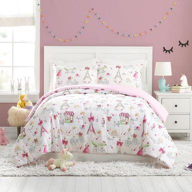 Kids La Parie Pink 2 Pc Twin Comforter Set