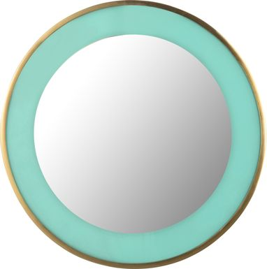 Kids Lagoonie Turquoise Mirror