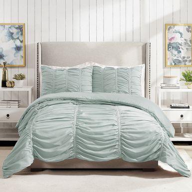 Kids Liesle Light Blue 2 Pc Twin Comforter Set
