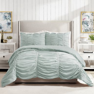 Kids Liesle Light Blue 3 Pc Full/Queen Comforter Set