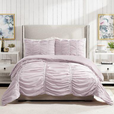Kids Liesle Purple 2 Pc Twin Comforter Set