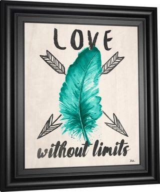 Kids Limitless Love Turquoise Artwork