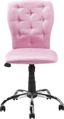 Kids Lucille Pink Desk Chair