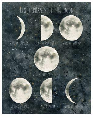 Kids Majestic Moon Gray Artwork