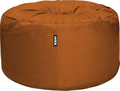 Kids Marshmellow Orange Bean Bag Chair