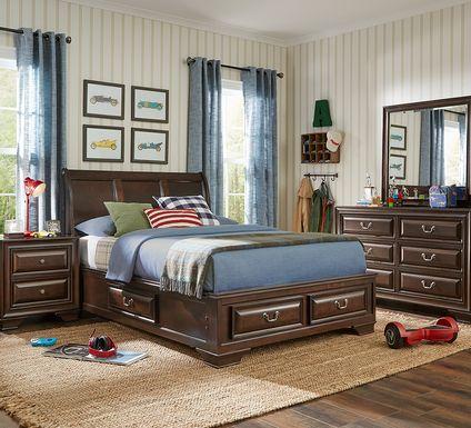 Kids Mill Valley Jr. Cherry 5 Pc Full Storage Bedroom